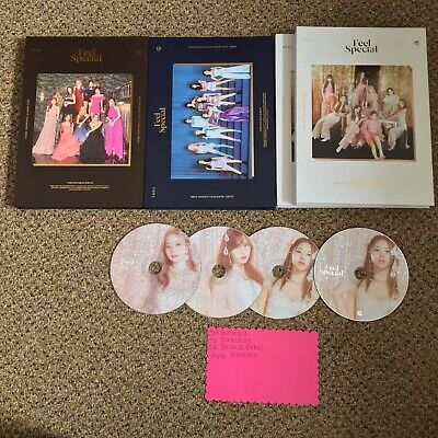 TWICE :: Feel Special Album :: choose cd plate & Version; No PC or lyric poster