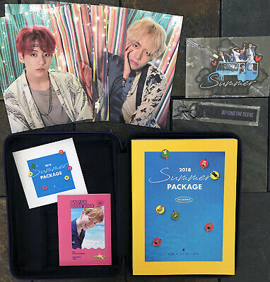 OFFICIAL BTS 2018 Summer Package in SAIPAN w/ JIMIN Guide Book - US seller