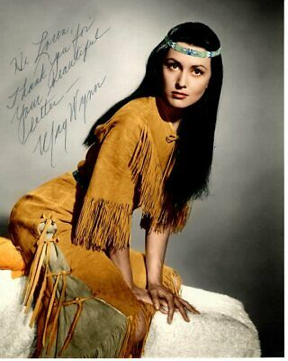 MAY WYNN Autographed Signed THE WHITE SQUAW EETAY-O-WAHNEE Photograph - To Loren