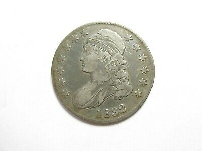 1832 Capped Bust Half Dollar - Large Letters - #6026