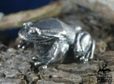 S. Kirk & Son Solid Sterling Silver (.925) Frog Decor Figurine Statue #3