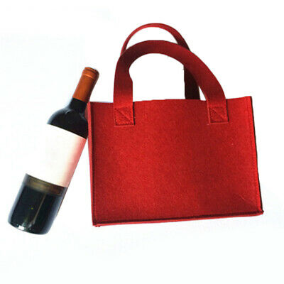 Felt 6-grid Beers Wine Storage Pouch Bags For Wedding Party Camping Carrier