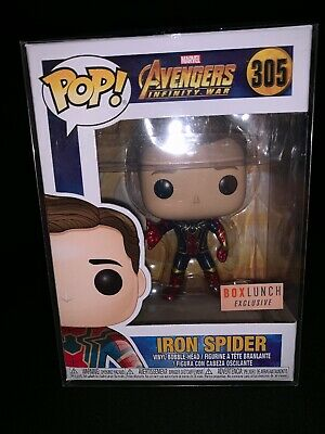 Funko Pop! Marvel Avengers Infinity War Iron Spider. Box Lunch #305. W/PR