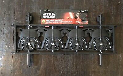Star Wars Darth Vader Decorative Fence (2 Piece) More Available!