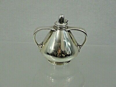 FABULOUS ANTIQUE TIFFANY & CO STERLING SILVER TABLE CIGAR LIGHTER Art Deco Style