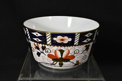 Royal Crown Derby Traditional Imari 2451 Cranberry Bowl 1916