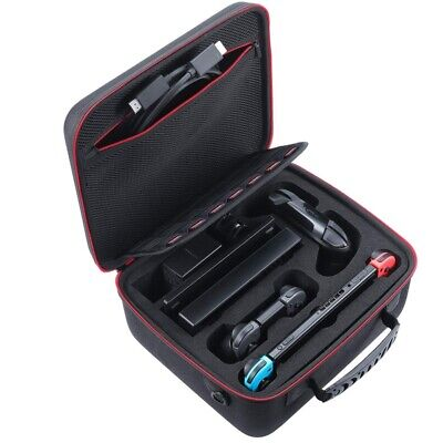 Hard Carrying Case Compatible with Nintendo Switch System, Travel Case Fit H7W3