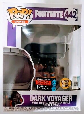 Funko Pop! Games Fortnite #422 Dark Voyager 2019 Fall NYCC Exclusive New Sealed