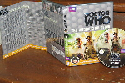 Doctor Who  The Android Invasion (Special Edition) Tom Baker Dr Who DVD UNPLAYED