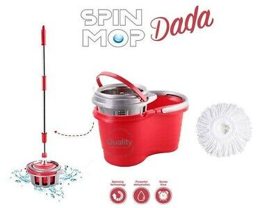 Dada Spin Mop and Bristle Brush Head Bundle