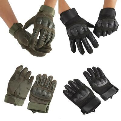 Tactical Military Working Driving Motorcycle Racing Full Finger Gloves XL