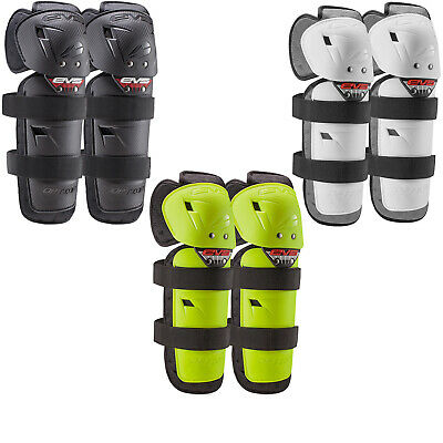 EVS Option Youth Knee Guards Armour Pads Protection MX Junior Pair Motocross