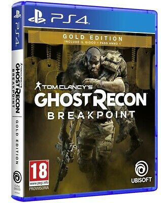 Tom Clancy's Ghost Recon Breakpoint - Gold Edition Ps4 Italiano Gioco Pal Ita