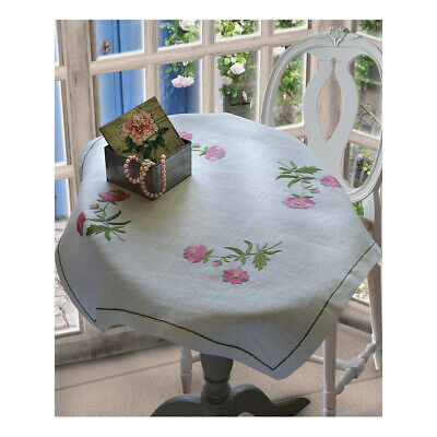 ANCHOR | Embroidery Kit: Sweetbriers - Tablecloth | 92400002332