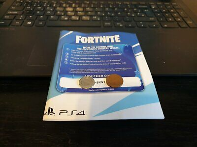 PS4 Fortnite Digital Code Neo Versa Pack + 500 V-Bucks