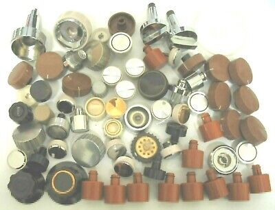 Knobs Used lot as removed from radios,TV's
