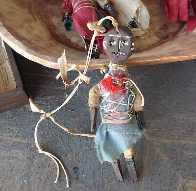 VooDoo authentic doll, ritual power,protection talisman amulet