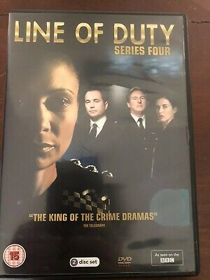 Line Of Duty Series 4/Four 2 Disc DVD