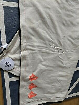 Petit Bateau large Baby Blanket new with tags