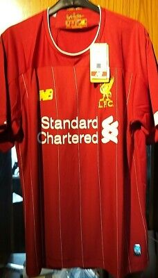 2019/20 Liverpool Fc Home Shirt Brand New With Tags Size Large