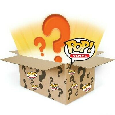 Funko Pop Mystery Boxes! Chase, Exclusives & Commons! X4