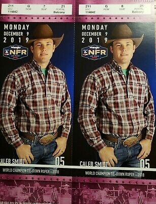 NFR National Finals Rodeo Tickets Day 5, Monday December 9, 2019
