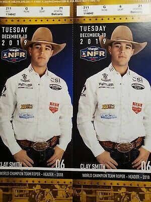 NFR National Finals Rodeo Tickets Day 6, Tuesday December 10, 2019