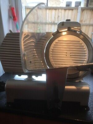 Commercial cooked meat slicing machine