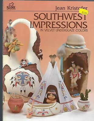 Southwest Impressions Velvet Underglaze Colors Painting Patterns Native American