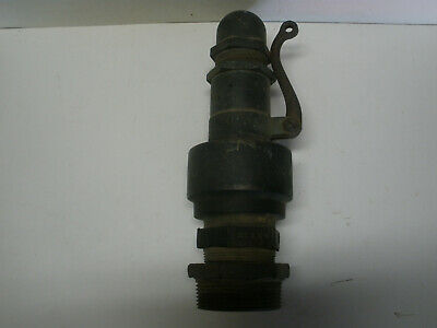 Solid brass Steam Engine Blow Off valve (Crosby?)