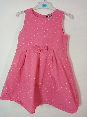 robe rose à pois In Extenso taille 98cm 3 ans tbe (C450)