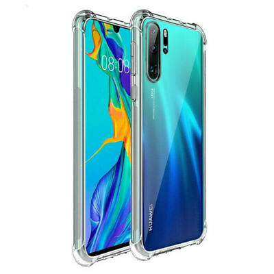 Clear Silicone Case for HUAWEI P30 P20 PRO LITE P SMART 2019 Mate Back TPU Cover