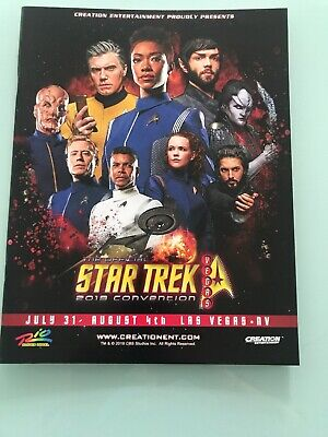 2019 Star Trek Las Vegas program book STLV Discovery TOS TNG DS9 Picard NCC1701