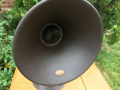 Antique 1920's Atwater Kent Radio Speaker Horn Model L - Great Condition!^