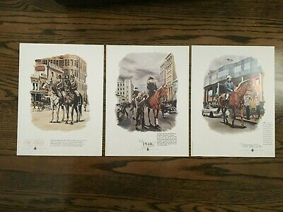 Special Edition Art Prints from Victoria Police Australia