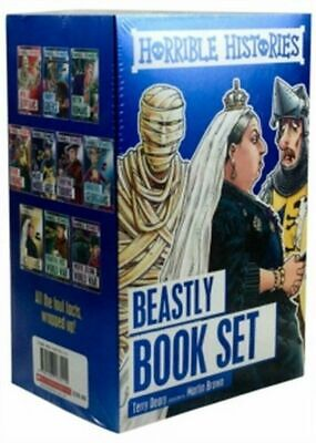 Horrible Histories Foiled Classic Editions, Paperback by Deary, Terry, Like N...