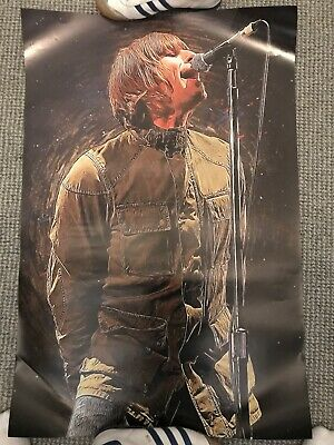 Liam Gallagher Noel Music Oasis Poster Adidas Casual Mod Art Print LG CP