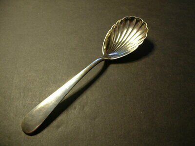 "S. Kirk & Son Sterling Silver ""Wadefield"" Sugar Spoon-Scalloped Shaped! No Mono"