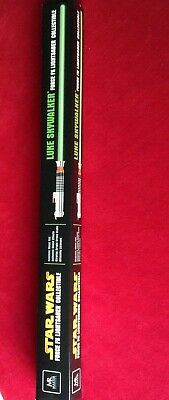 Master Replicas Force FX Star Wars Luke Skywalker Lightsaber Green ROTJ - MISB