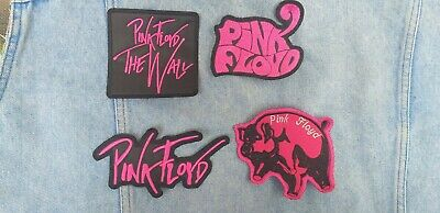 Pink Floyd embroidered patch hard rock led zeppelin hendrix rolling stones