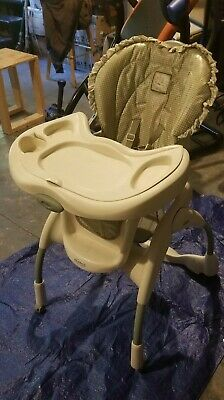 Graco Infant Baby Toddler Feeding High Chair Height Adjustable - Removable Tray