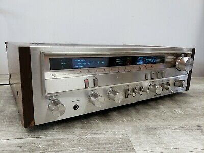 Vintage Pioneer SX-3700 Stereo Receiver *Tested/Works* WATCH VIDEO