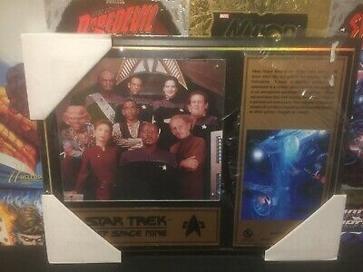 Star Trek Deep Space Nine Plaque 21 Of 1000 Series One (2002)