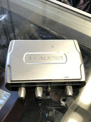 M-Audio Fast Track Guitar Mic USB Recording Interface