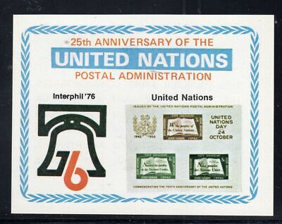 United Nations  Stamps Souvenir Sheet  Mint Never Hinged  Lot 3529