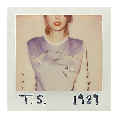 1989 by Taylor Swift (CD, 2014, Big Machine Records)