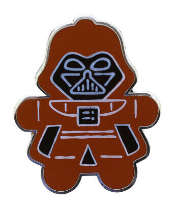 2014 Disney Star Wars Gingerbread Mystery Collection Darth Vader Pin Rare W6
