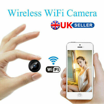 HD 1080P Mini Hidden Spy Camera Wireless Wifi IP Home Security DVR Night Vision