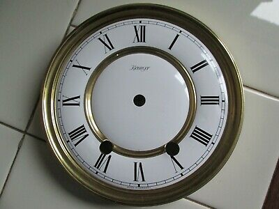 A Kieninger Striking Wall Clock Dial With Its Movement Pillars