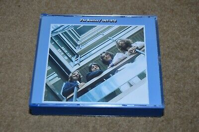 THE BEATLES 1967 - 1970 Blue Album double CD